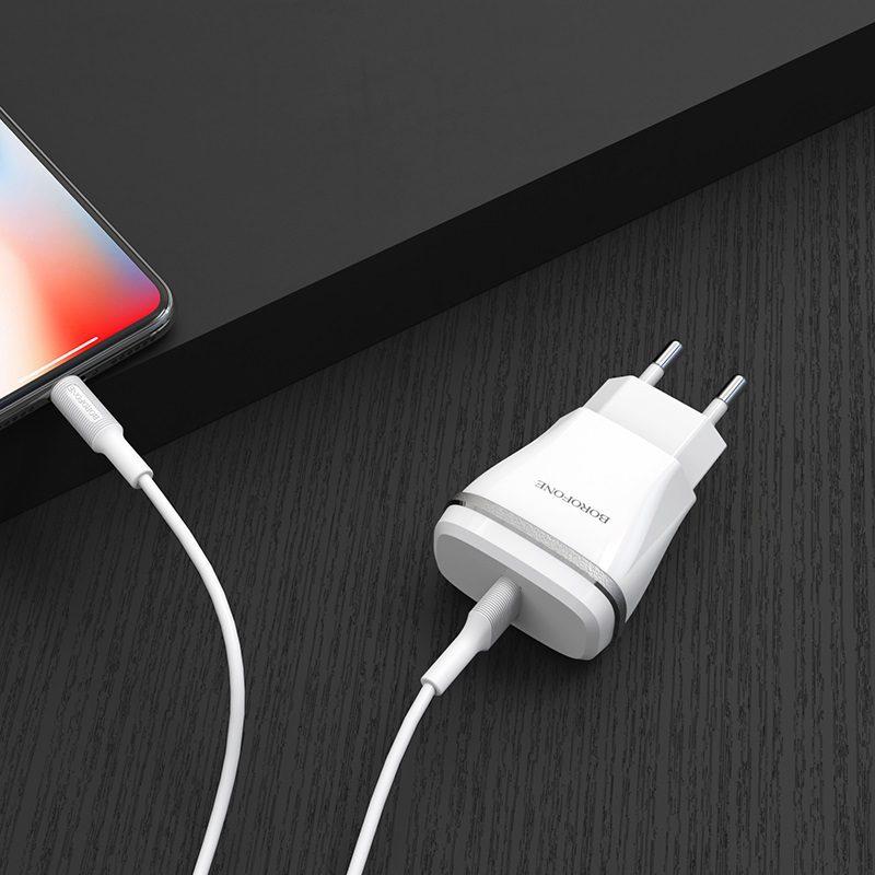 Wall charger BA1A Joyplug EU set with cable