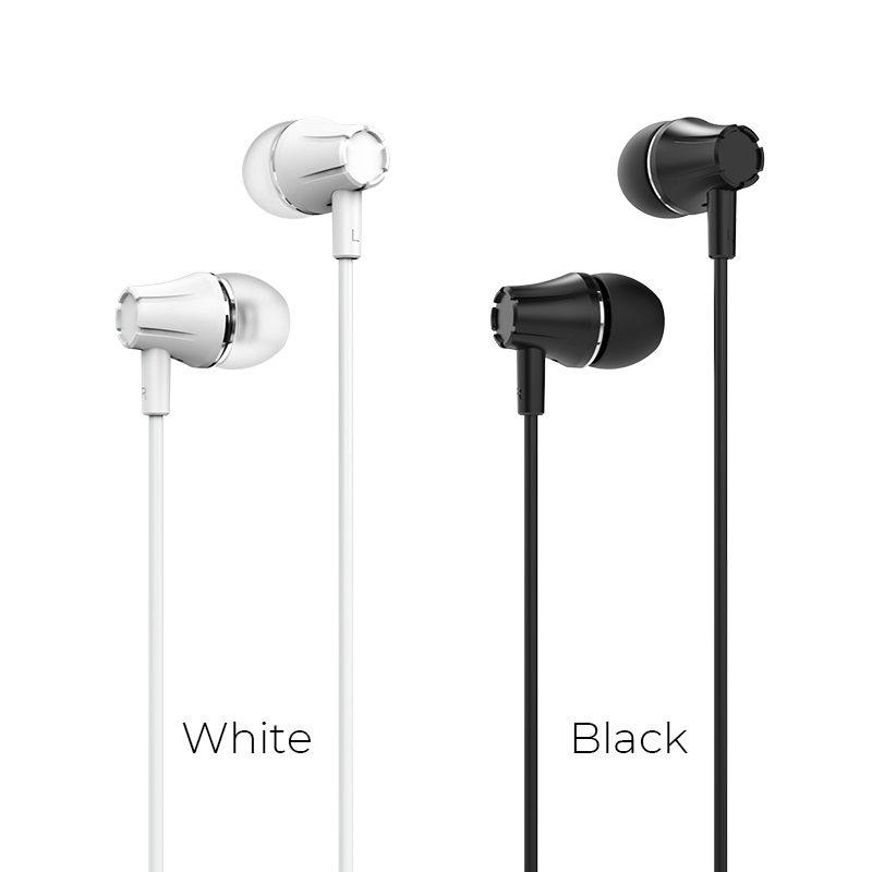 borofone bm21 graceful universal earphones with mic colors