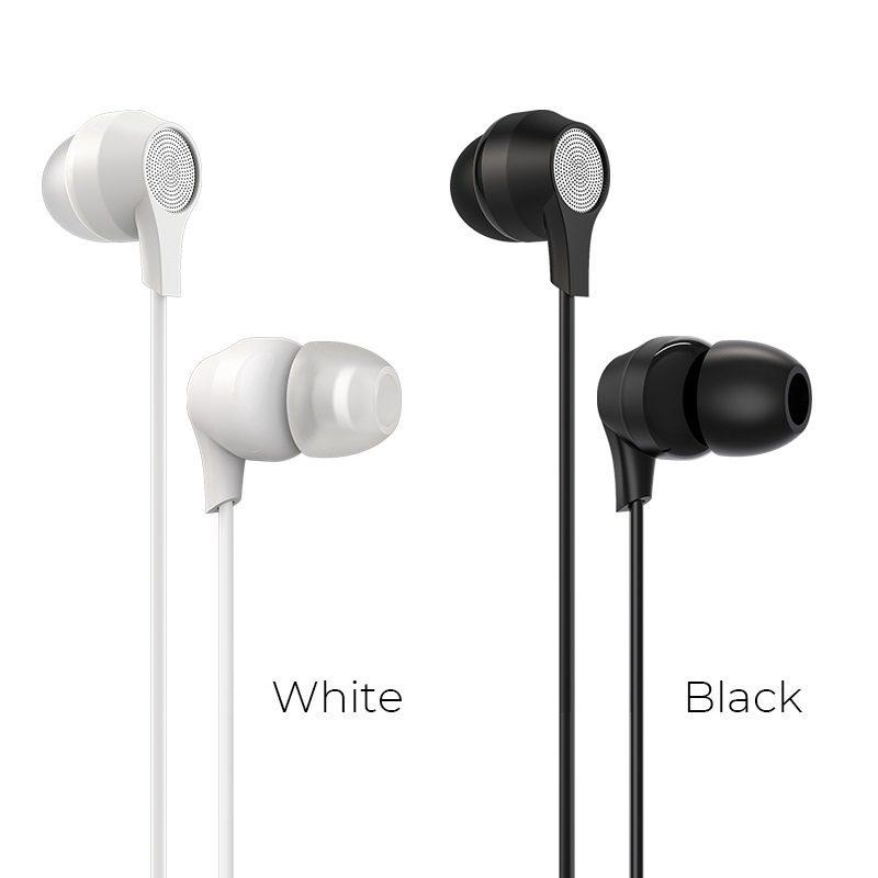 borofone bm28 tender sound universal earphones with mic colors