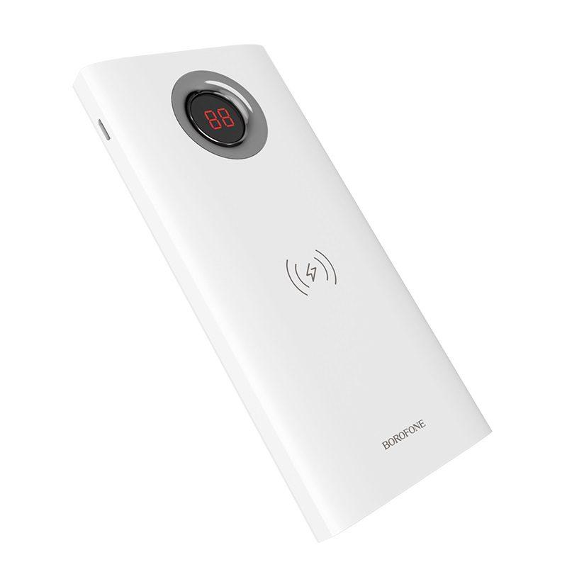 borofone bt16 airpower wireless charging power bank 10000mah front