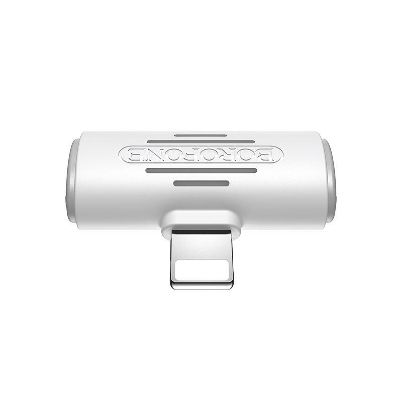 borofone bv6 comfortable apple dual lightning digital audio converter front