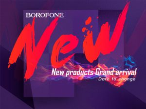 BOROFONE new products arrival!