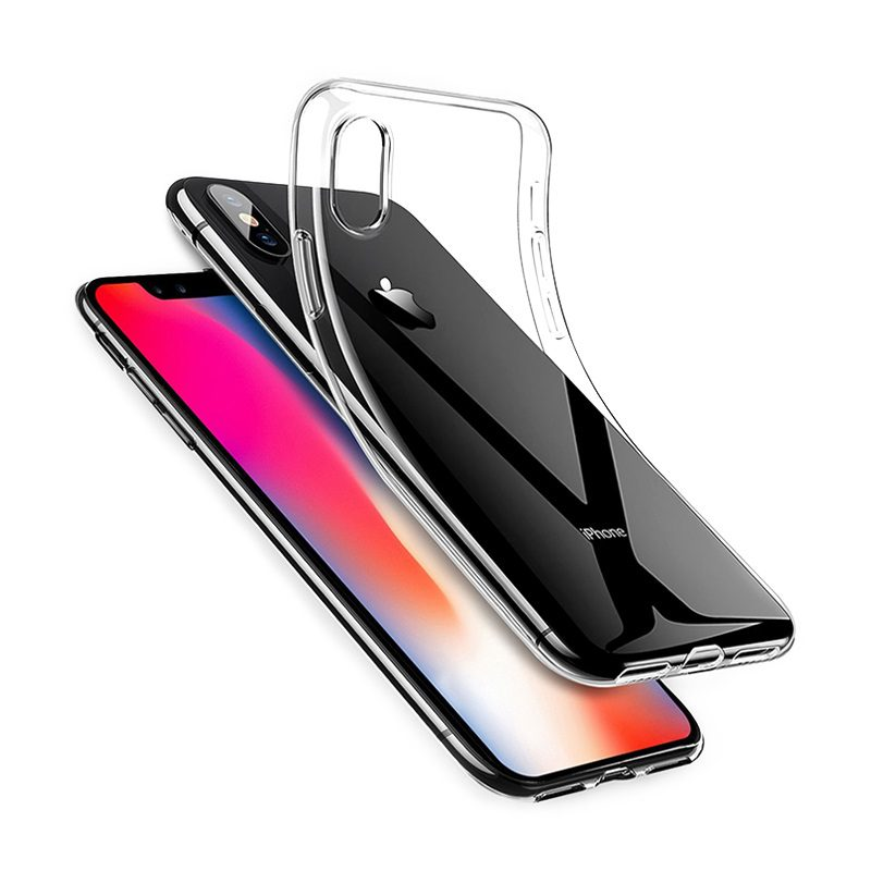 Protective case BI1 iCrystal for iPhone X