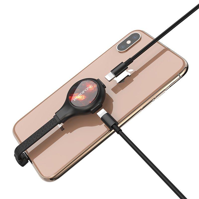 borofone bv10 discovery apple dual lightning digital audio converter phone back