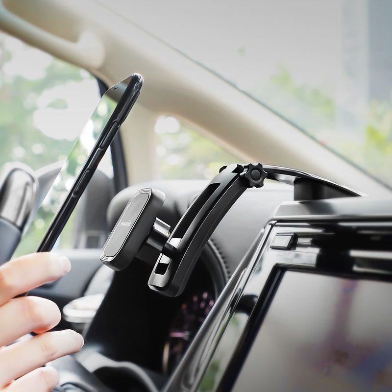 borofone bh17 ice jade center console car holder overview