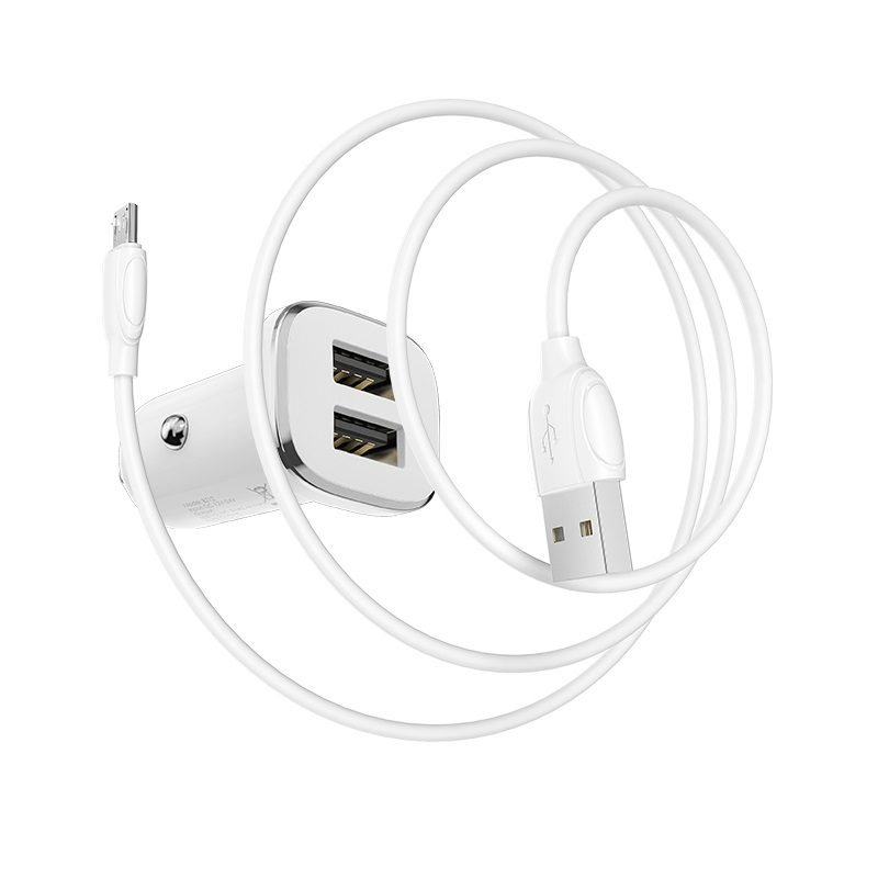 In-car charger BZ12 Lasting power set with cable