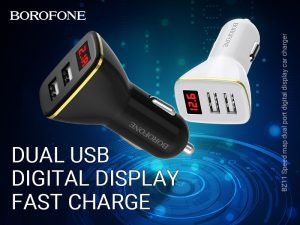BOROFONE BZ11 Speed map car charger