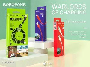 BOROFONE Silicone cables collection