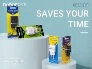 BOROFONE A Series wall chargers collection