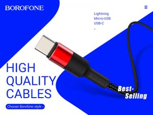 BOROFONE X Series USB Cable Collection