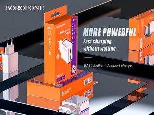 BOROFONE BA35 Brilliant wall charger