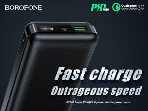 BOROFONE BT26A PD+QC3.0 power bank