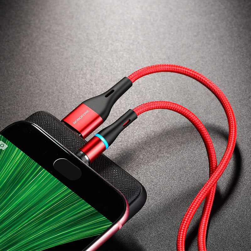 Cable USB to Micro-USB BU16 Skill magnetic