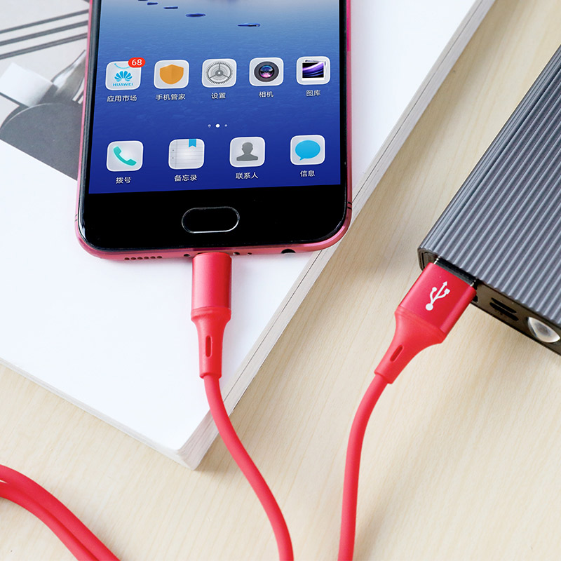 Cable USB to Micro-USB BU24 Cool Silicone
