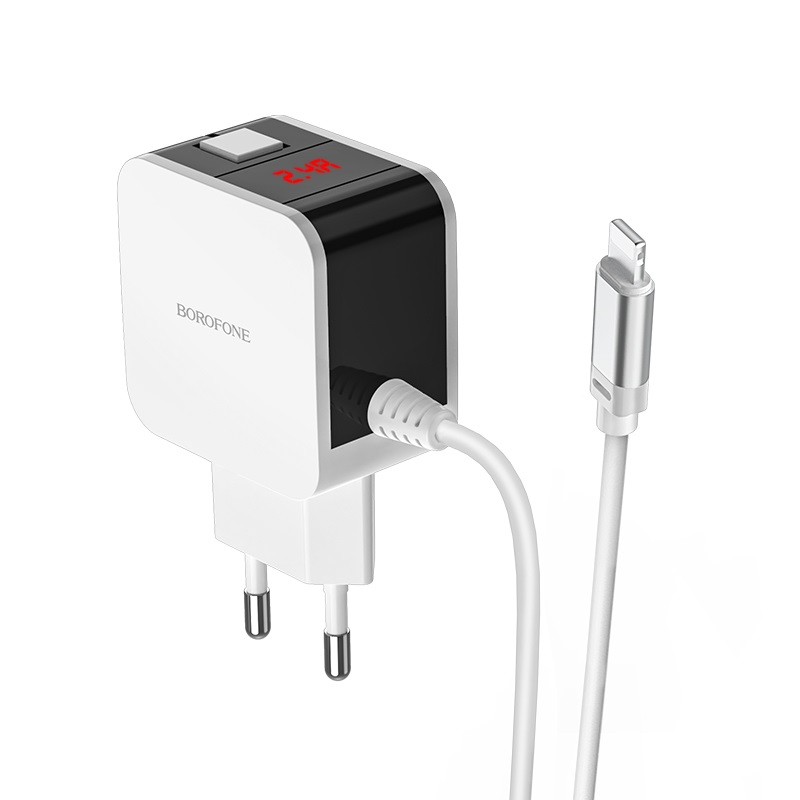 Wall charger BA41A Power lake with display and cable