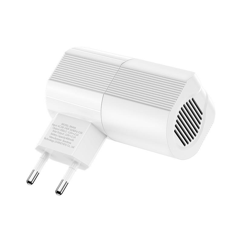 borofone ba44a sage power dual port wall charger eu wireless speaker specs