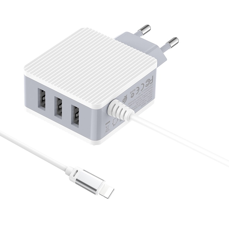 Wall charger BA42A Joyful EU with built-in cable