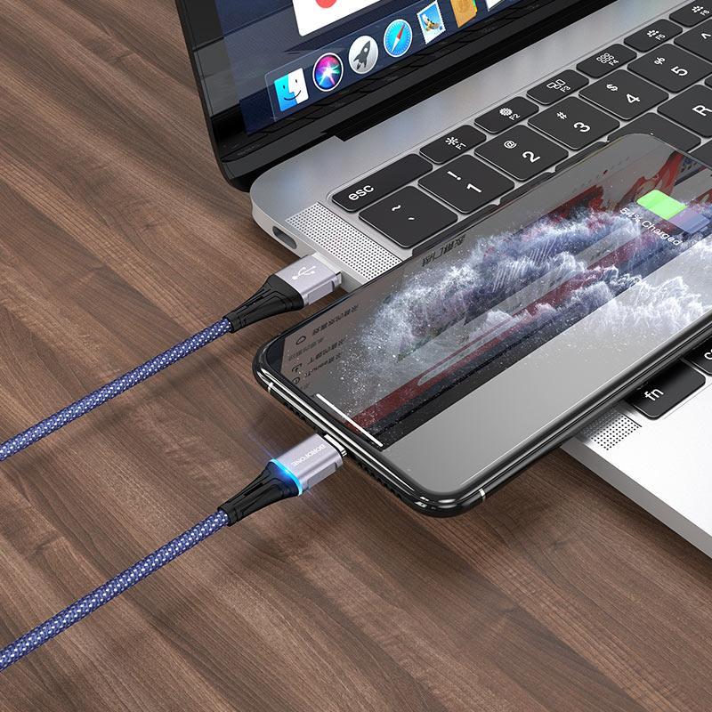 Cable USB to Lightning BU25 Glory