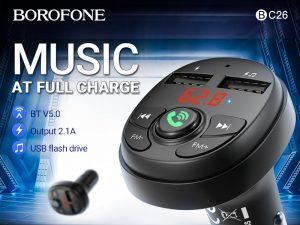 BOROFONE BC26 Music joy in-сar FM transmitter