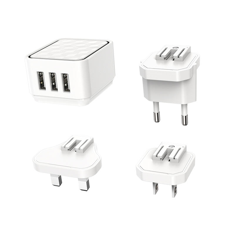 Wall charger BA51 Easy removable pin EU US UK
