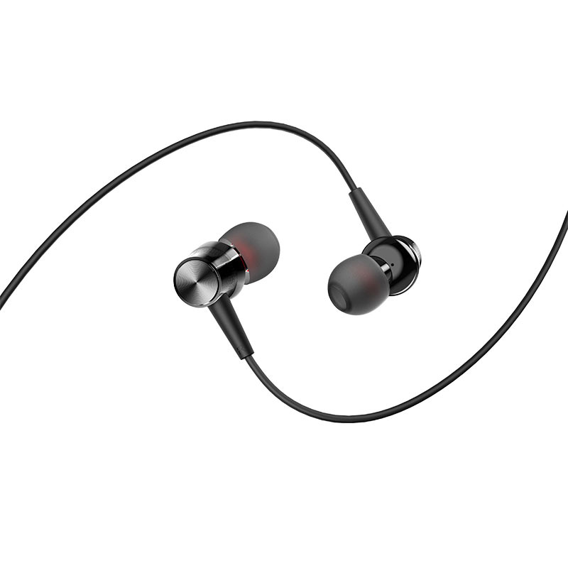 borofone bm52 revering wired earphones with microphone eartips