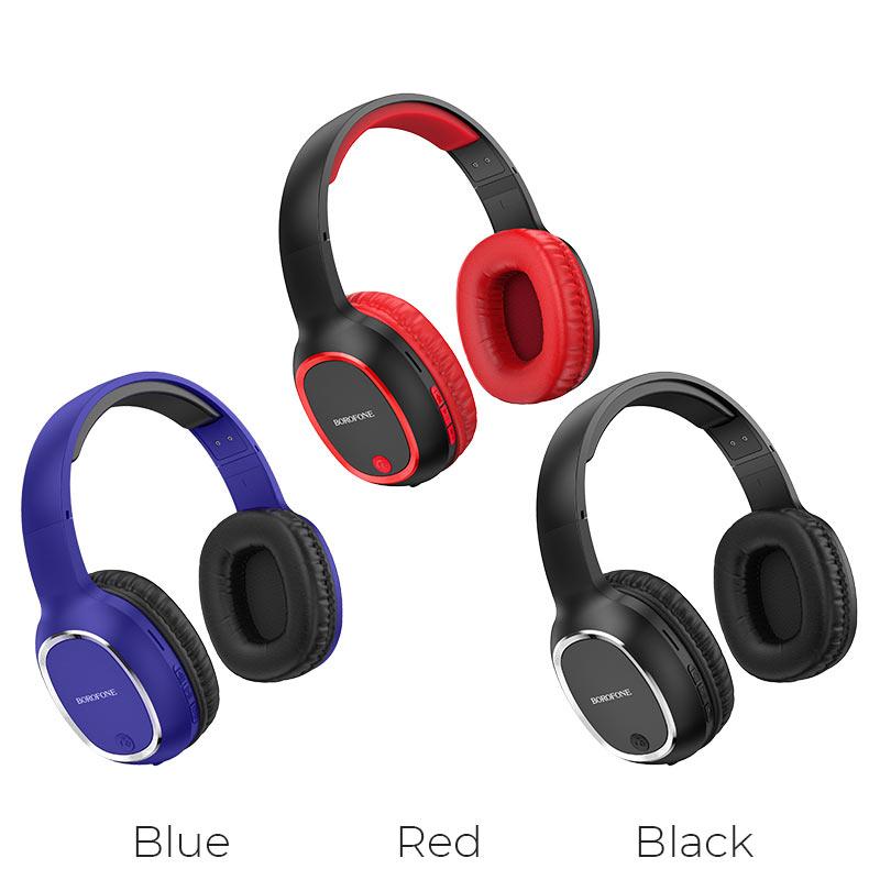 borofone bo9 pearl wireless headphones colors