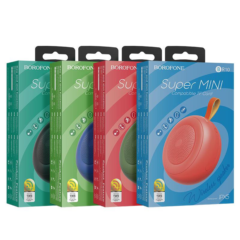 borofone br10 joyful shine sports wireless speaker packages