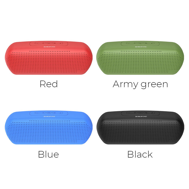 borofone br11 sapient sports wireless speaker colors