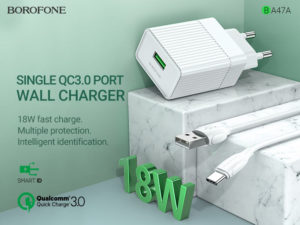 BOROFONE BA47A Mighty speed wall charger