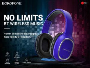 BOROFONE BO9 Pearl headphones