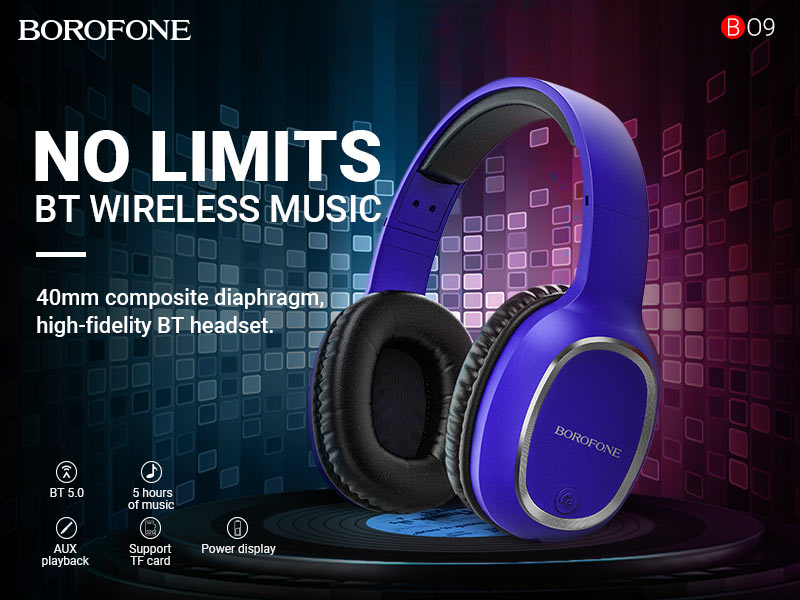 borofone news bo9 pearl wireless headphones banner en