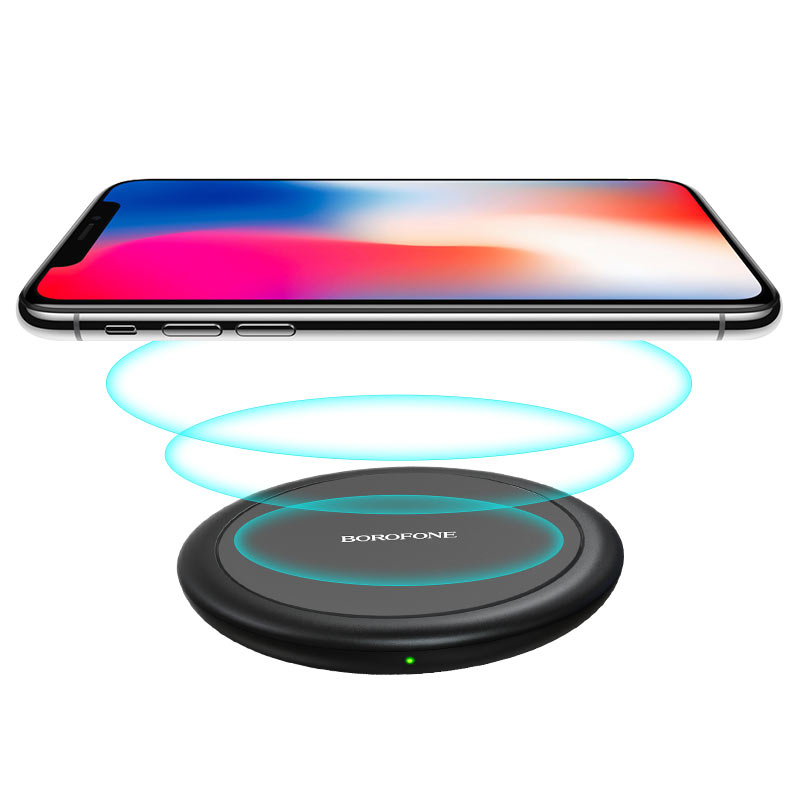 borofone bq6 boon 15w wireless fast charger charging