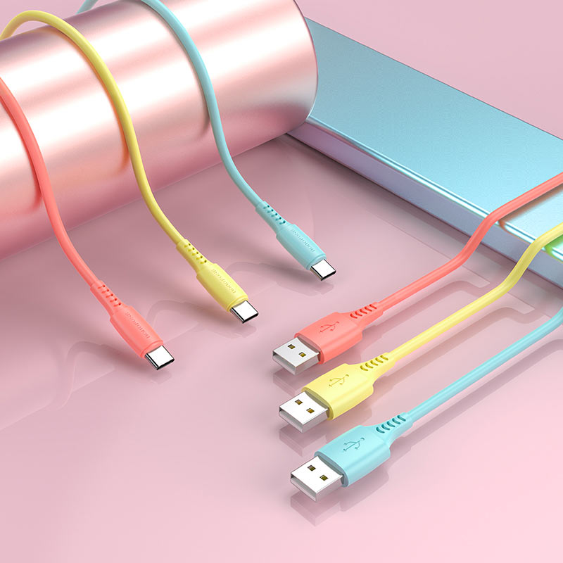 Cable USB to USB-C BX40 Multicolor superior