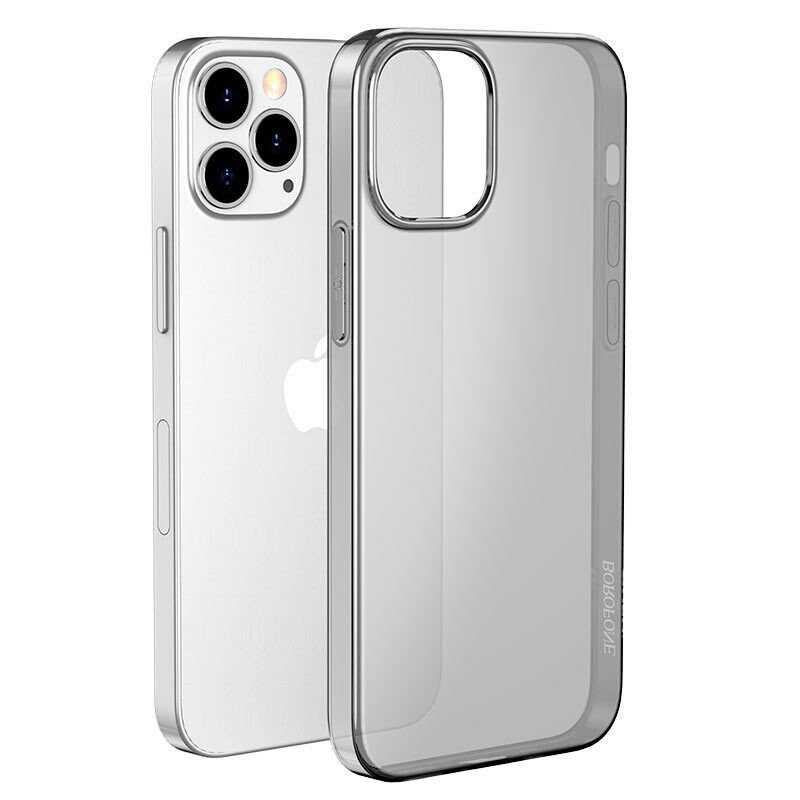 borofone ice series bi4 phone case for iphone 12 6.7 front
