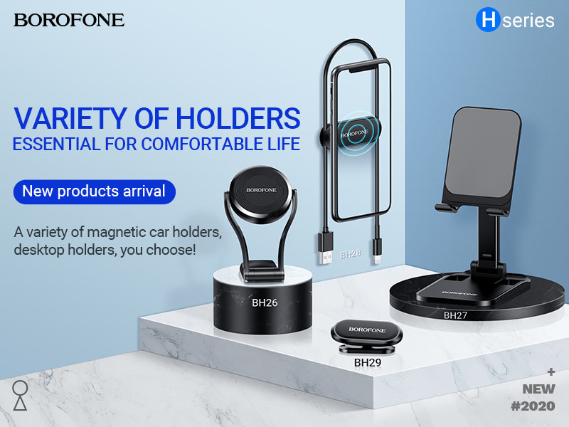 borofone news h series hot sale holders collection banner en