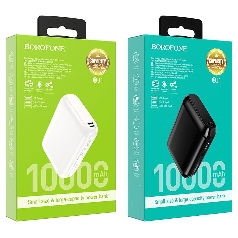borofone bj1 olymp power bank 10000mah packages