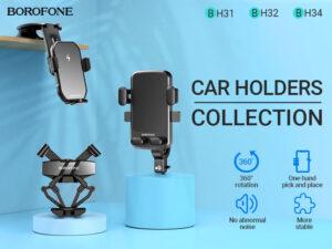 BOROFONE Car Holders Collection