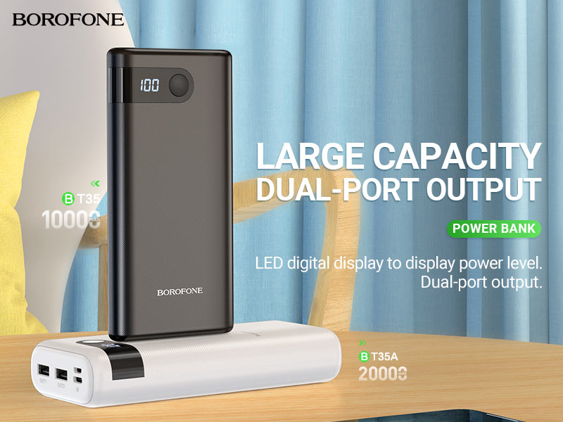 borofone news bt35 bt35a hot selling power banks collection banner en