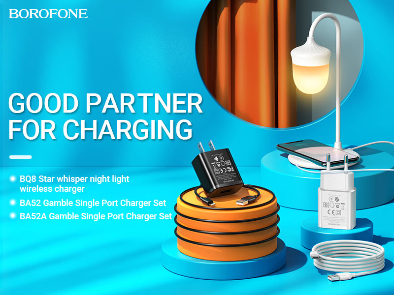 borofone news chargers collection ba52 ba52A bq8 banner en
