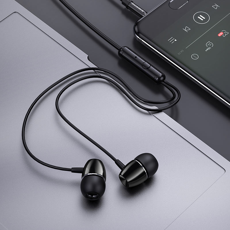 Wired earphones BM57 Platinum