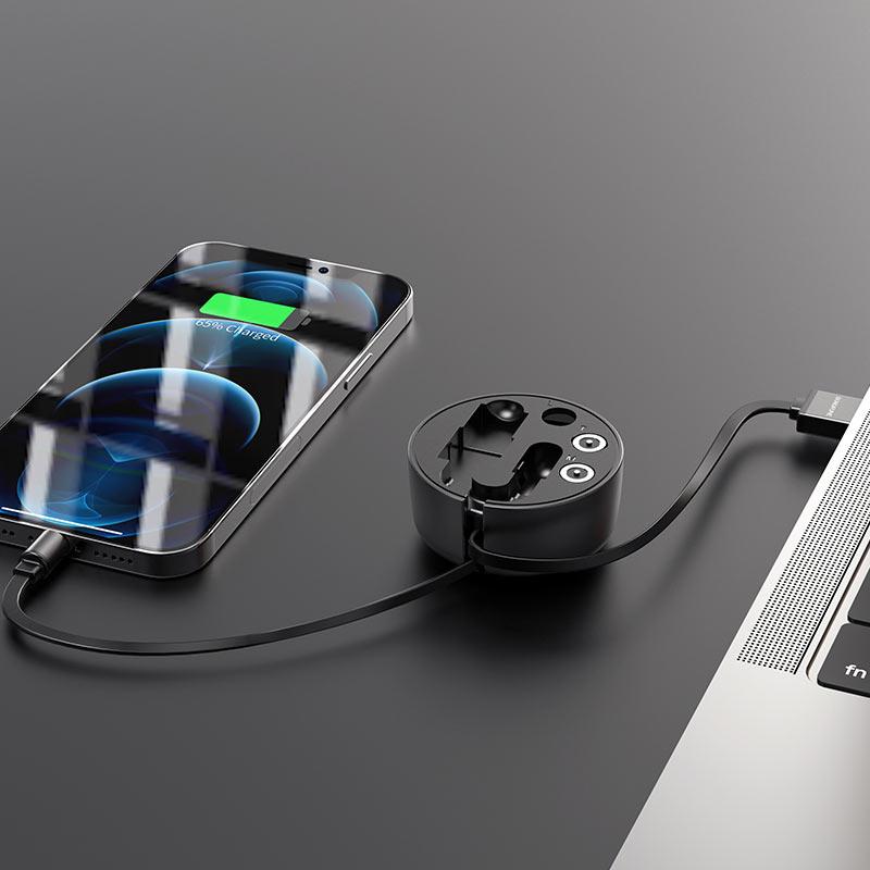 Cable 3-in-1 Lightning / Micro-USB / USB-C BU26